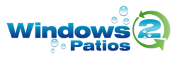 Windows 2 Patios Logo